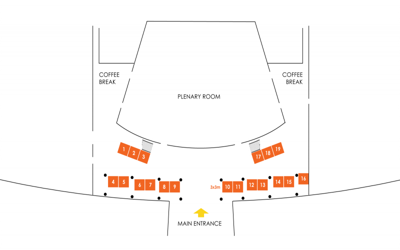 2019 ACA Expo Floor Plan