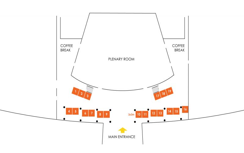 2019 ACA Expo Floor Plan
